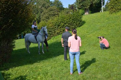 Making of - neue Lipizzanerkollektion_5